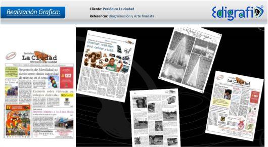 Diagramación Periódico La Ciudad