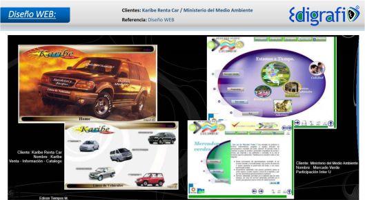 Diseño WEB - Ministerio del Medio Ambiente