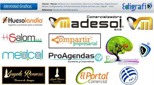 Identidad Gráfica (Logotipos) - Varias marcas