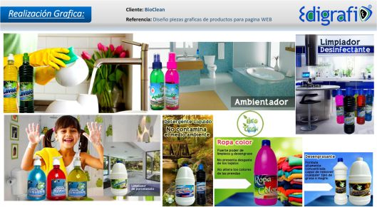 Artes para internet - BioClean